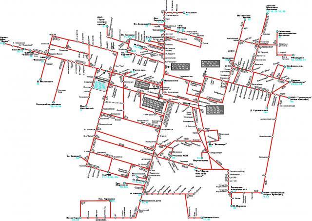 Схема маршрута - это изображенная дорога, по которой ездит транспорт.  Такую схему можно часто увидеть в общественном...