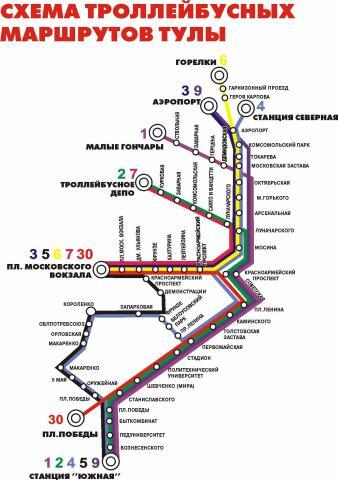 схема проезда 21 маршрута